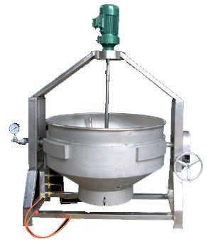 燃气(刮底搅拌式)可倾式夹层锅