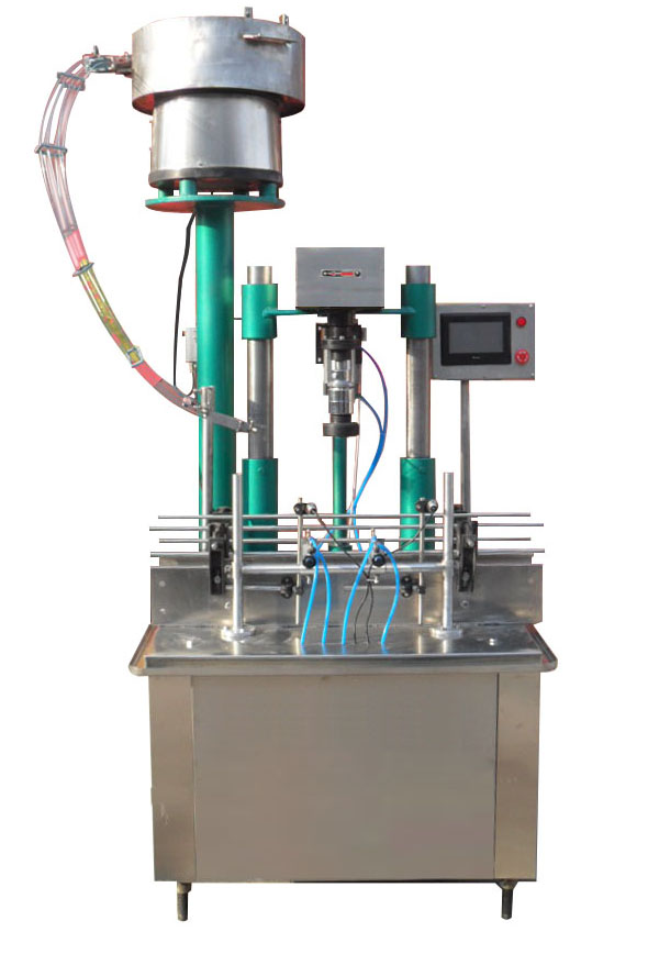 直列式全自动旋盖机,理盖封口机,玻璃瓶旋盖机,塑料瓶旋盖机