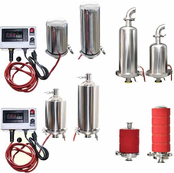 电加热式呼吸器,YXM卫生级电加热智能控温除菌呼吸器
