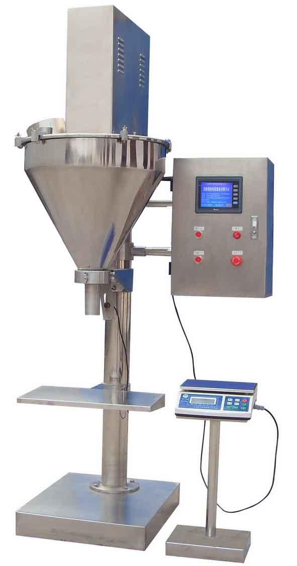 YX-F2 型粉剂自动定量BOB(伺服电机 中文液晶触摸屏)(1-5000g)