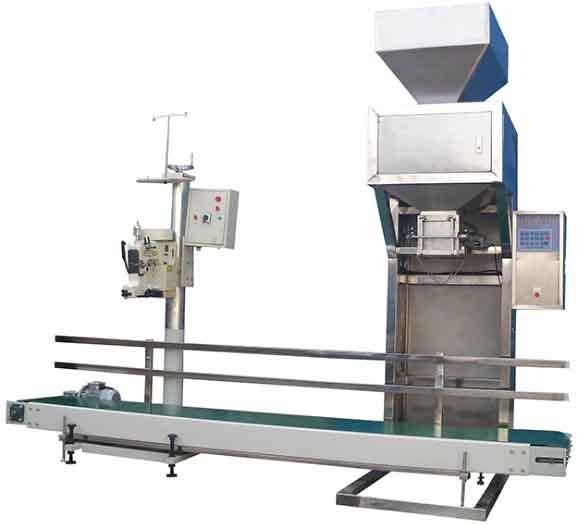 YX-DGS粉类大包装BOB(2-50公斤,主机,传输带,缝包机,控制器连网)