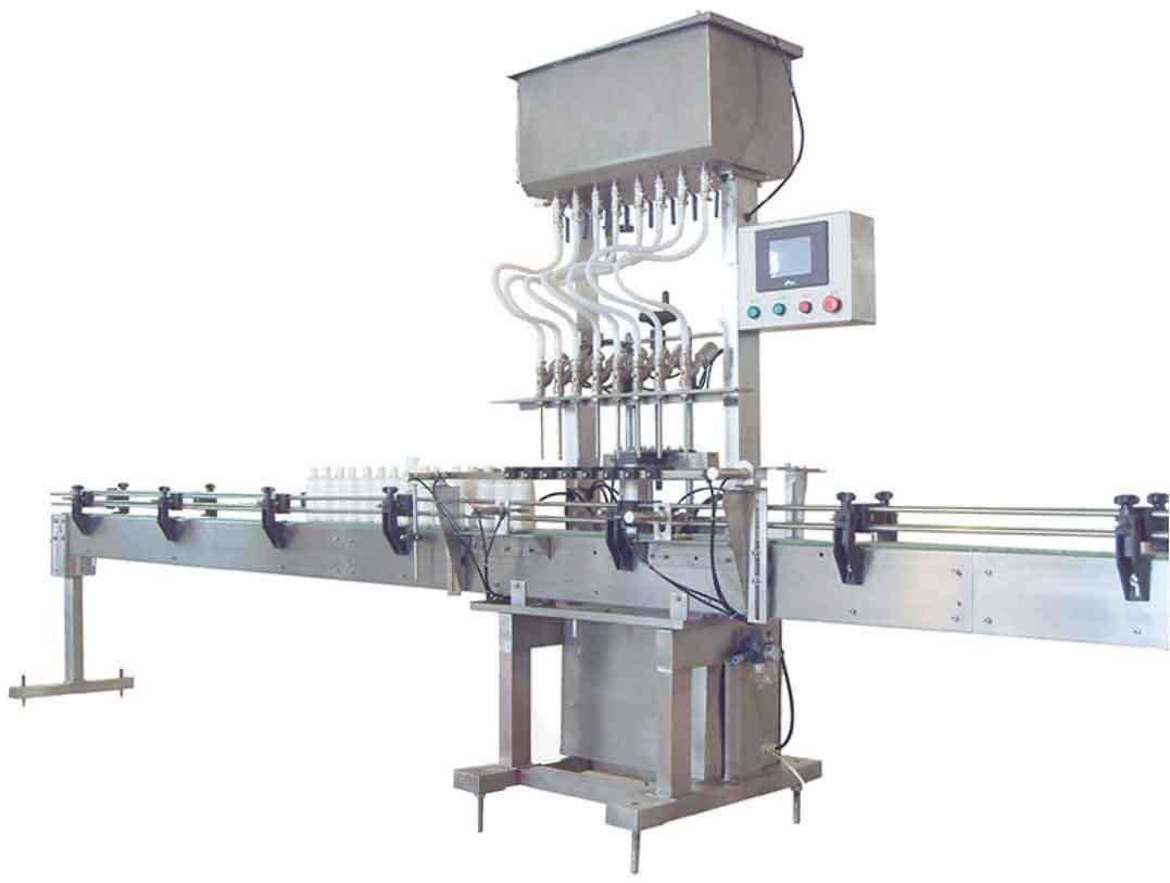 全自动膏体BOB(带下潜装置,用于灌装不同粘度膏体或液体)