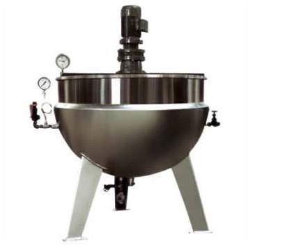 蒸汽(刮底搅拌式)立式夹层锅
