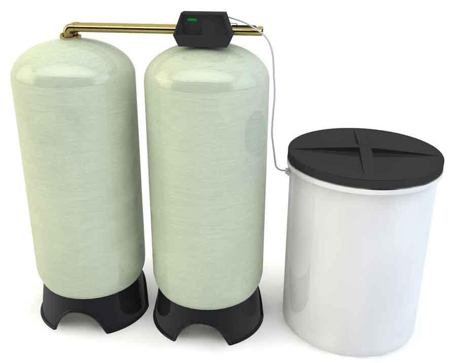 钠离子交换器(单阀双罐)