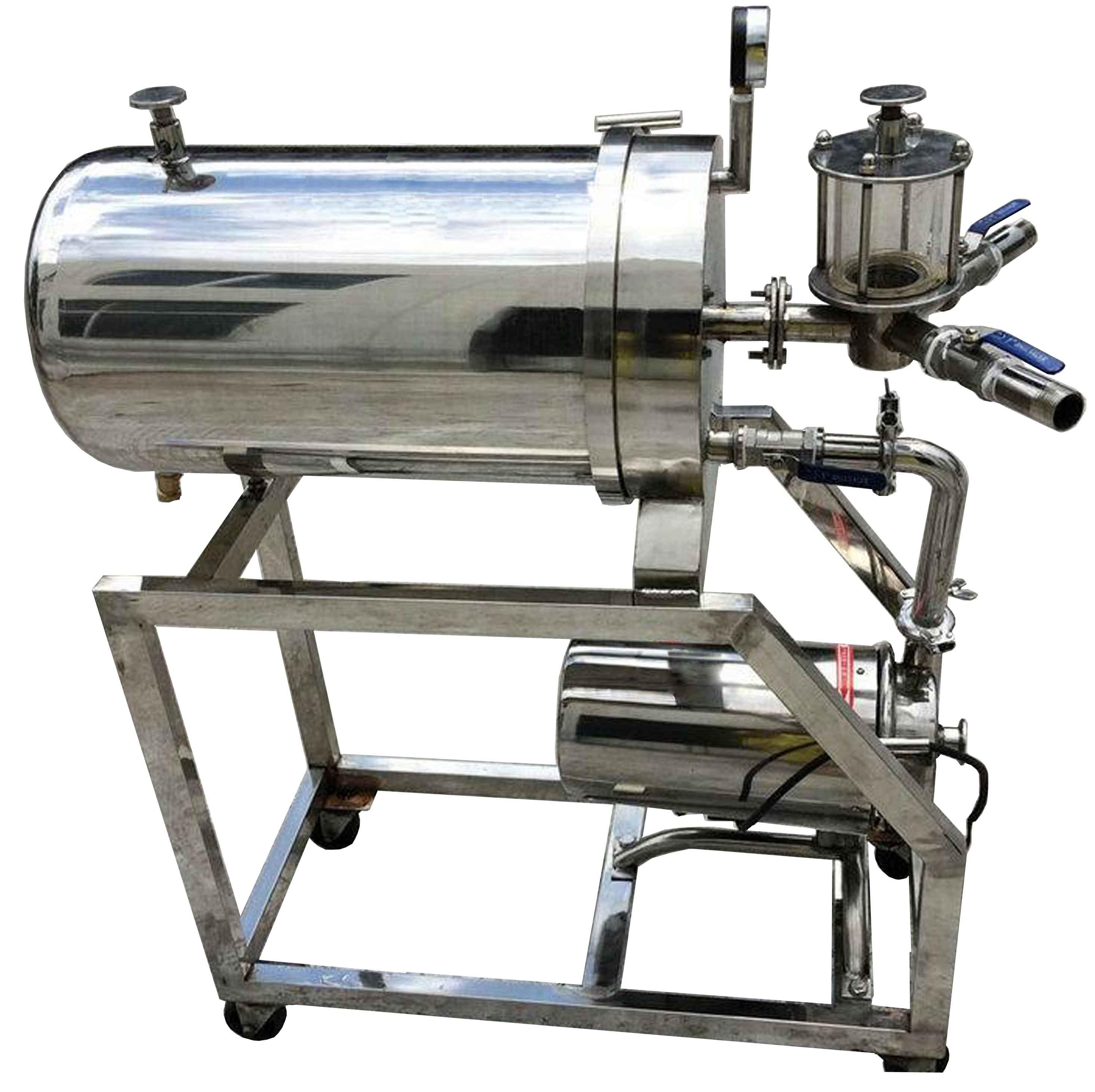 硅藻土过滤机,白酒黄酒过滤机