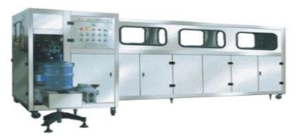 桶装水冲洗灌装封盖一体机,桶装纯净水矿泉水生产线,3加仑5加仑桶装水生产线