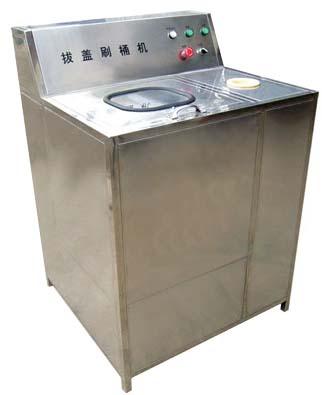 全自动多功能5加仑拔盖刷桶机